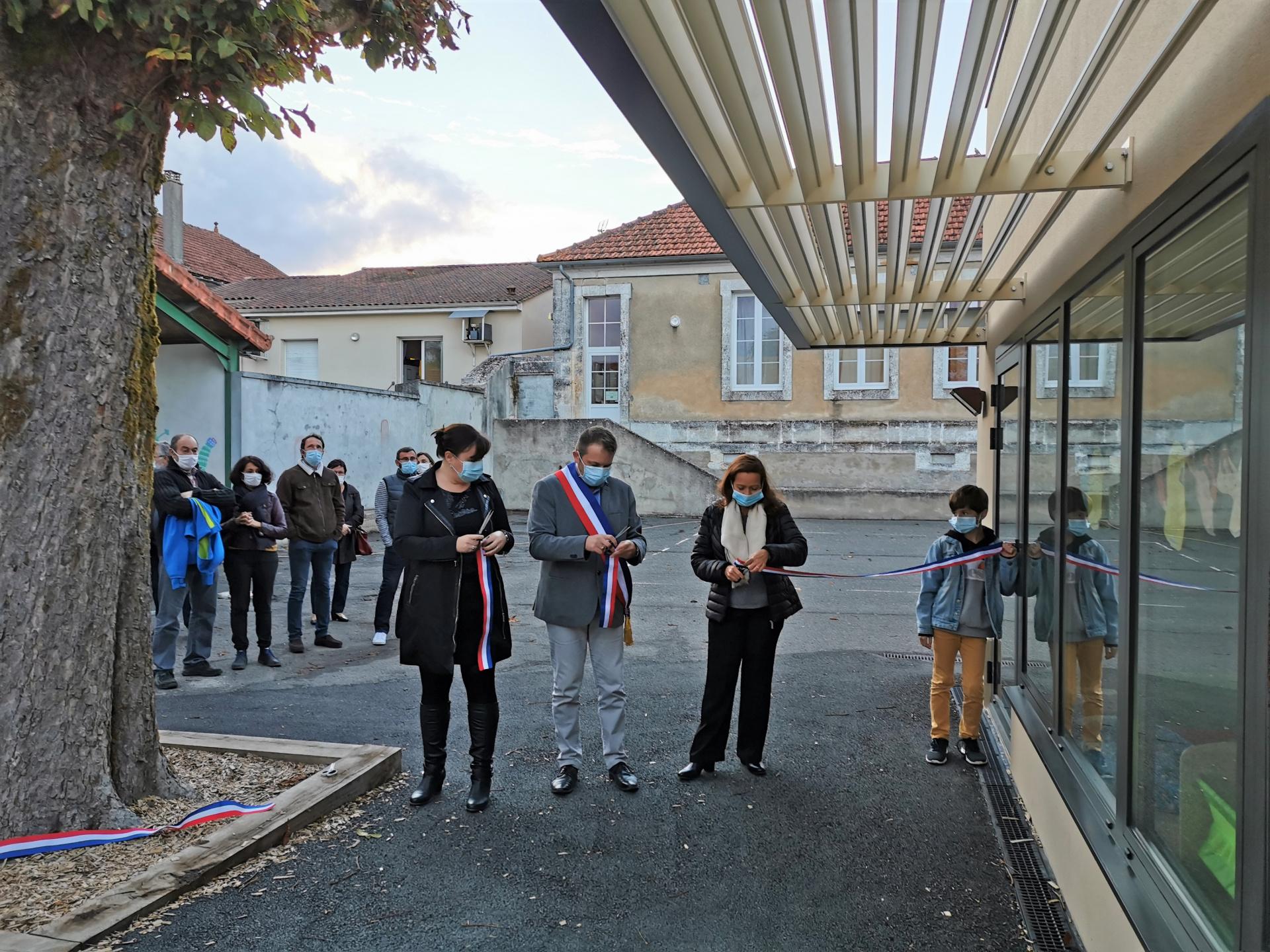 Inauguration Bâtiment Maternelle